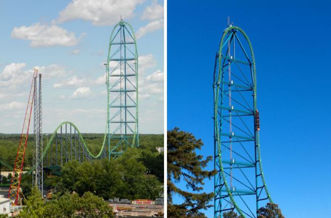 1. Kingda Ka, Six Flags Great Adventure, New Jersey
