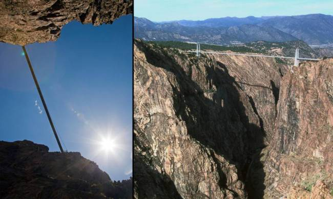Royal Gorge Bridge, Colorado, EUA