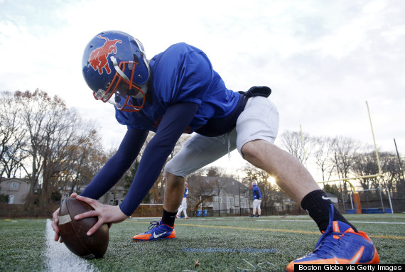 Legally Blind, Newton South Senior Has Vision To Be College Long Snapper