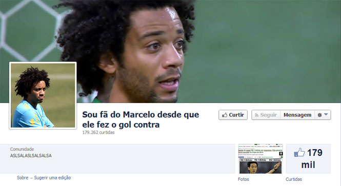Marcelo no Facebook
