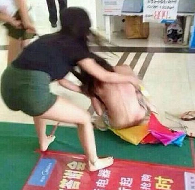 Mulher espancada