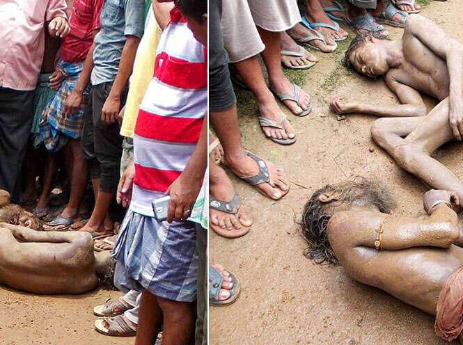 Homens são espancados por moradores na Índia após estuprar e matar menina