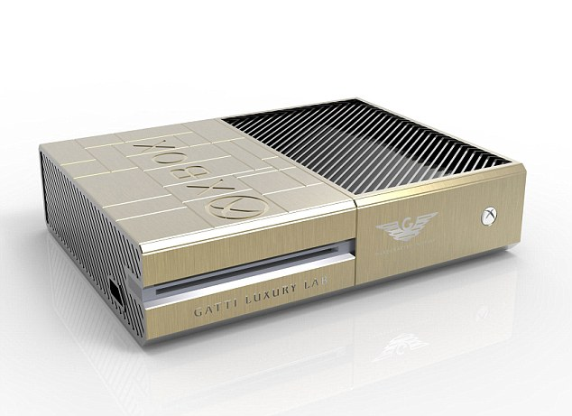 World's first gold video game consoles