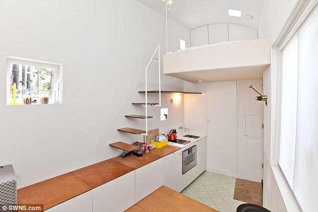 Menor casa da Grã-Bretanha é vendida por mais de 1 milhão de reais