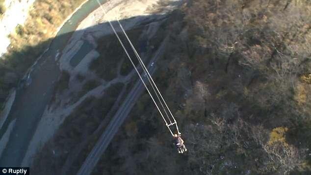Parque inaugura balanço mais alto do mundo