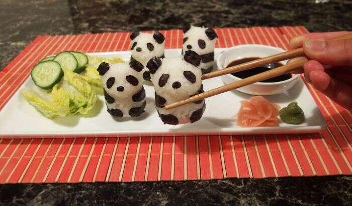 Comida japonesa se transforma em arte na mão de pessoas criativas