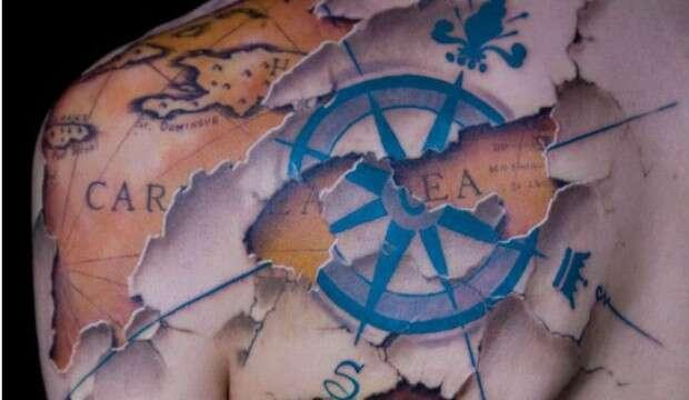 Imagens mostram as melhores tatuagens em 3D