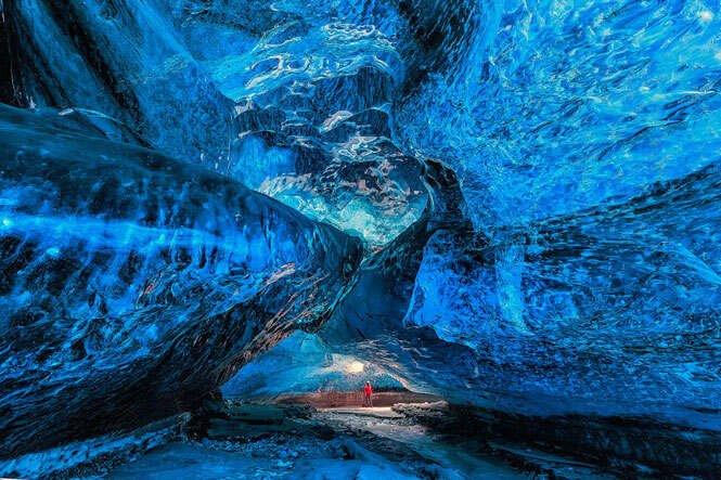Cavernas bonitas e perigosas