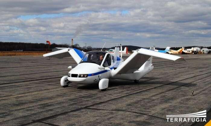 Carro voador é finalizado e está prestes a ser comercializado