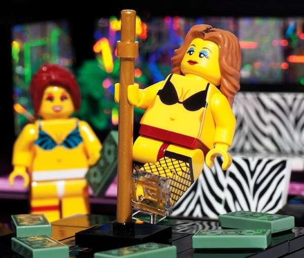 Versão de Lego para adultos