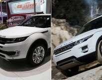 Chineses lançam cópia de Range Rover Evoque por apenas 55 mil reais