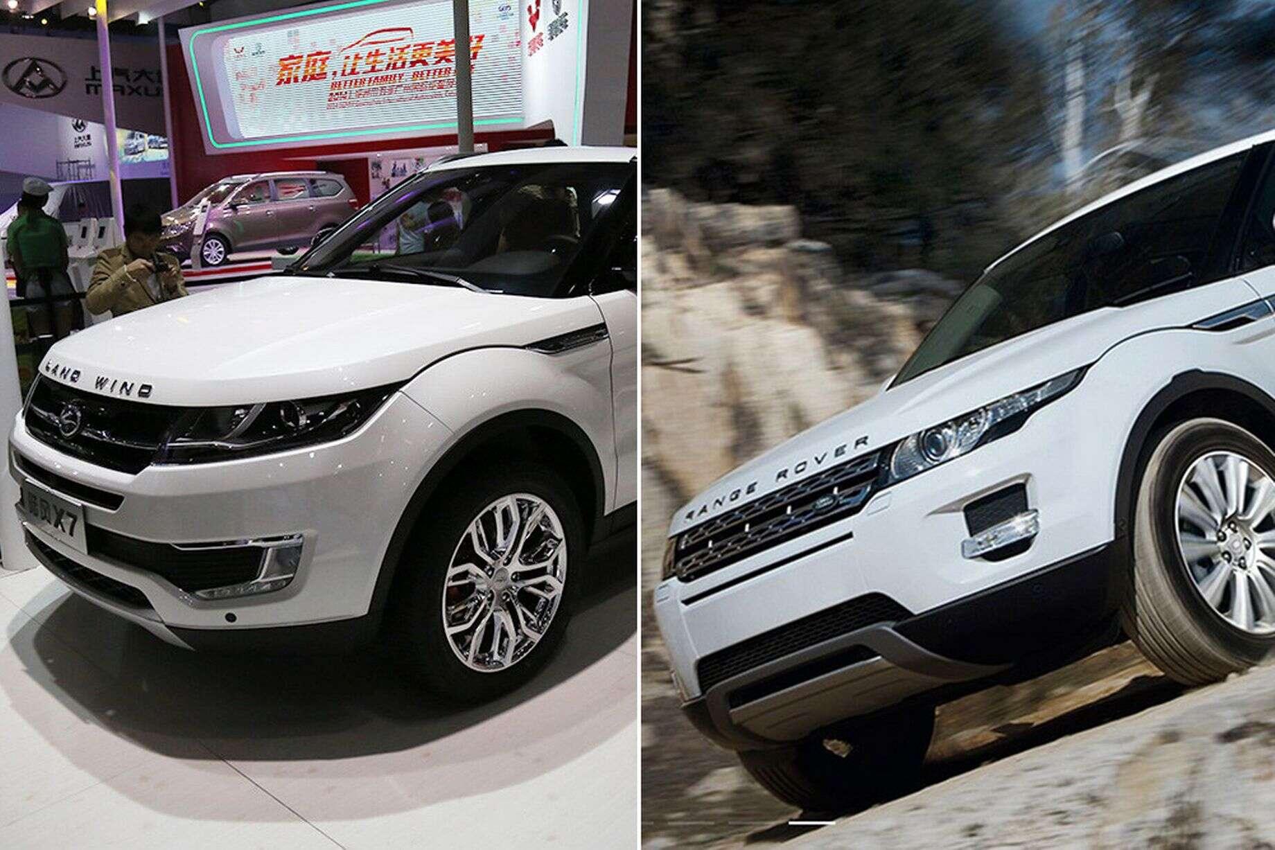 Chineses lançam cópia de Range Rover Evoque