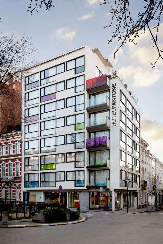 Hotel colorido