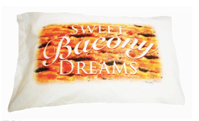 Travesseiro com cheiro de bacon é criado por empresa