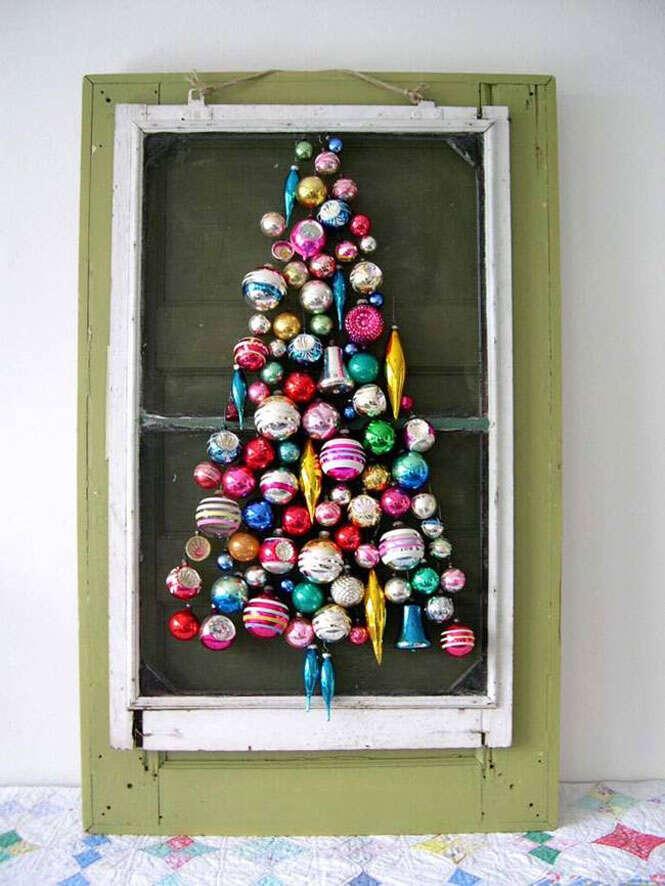 árvore de Natal criativa
