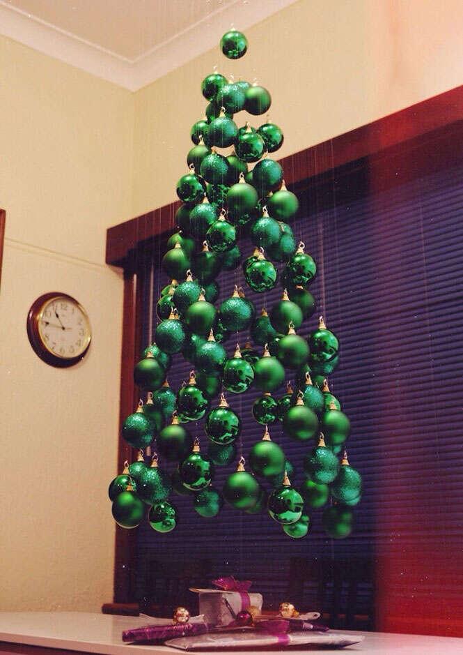 árvores de Natal incríveis