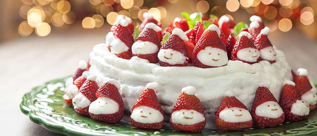 Aprenda a fazer um incrível bolo natalino