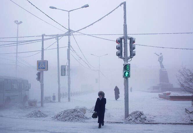 Cidade mais fria do mundo