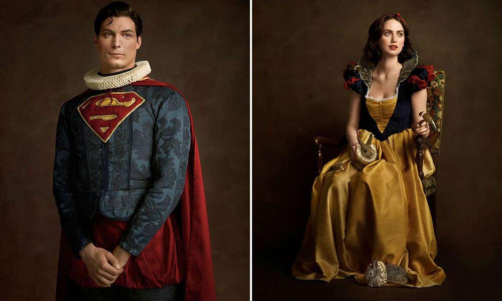 Super-heróis de outras épocas