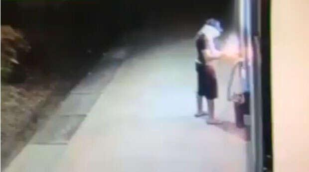 Ladrão explode caixa eletrônico e se dá mal