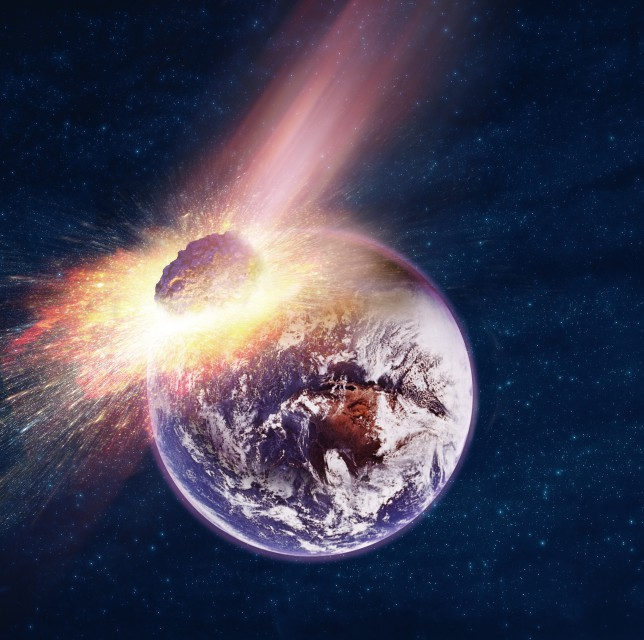 Asteroide ameaça destruir a Terra