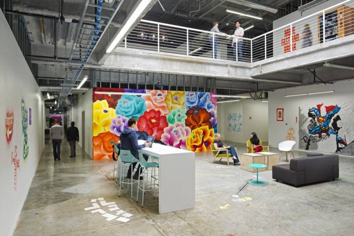 Facebook's Menlo Park Headquarters Design: Gensler Photography: Jasper Sanidad