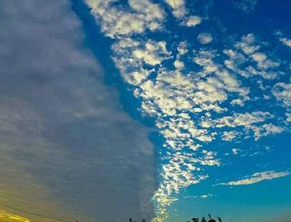 Imagem impressionante de céu no Taiwan repercute na internet