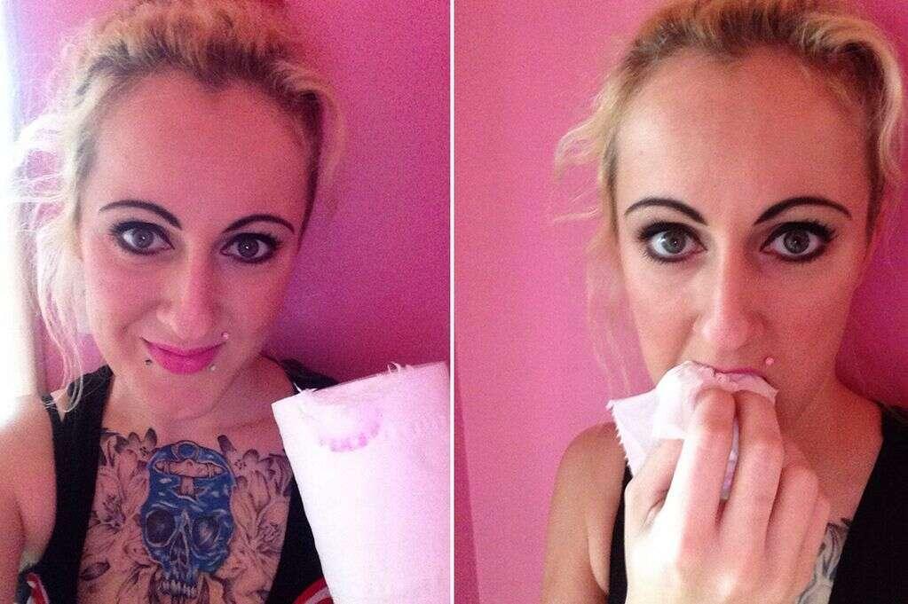 Mulher desenvolve vício bizarro em comer papel higiênico