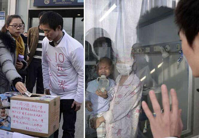 Pai se torna saco de pancada humano para arrecadar dinheiro e conseguir pagar tratamento de filho com leucemia