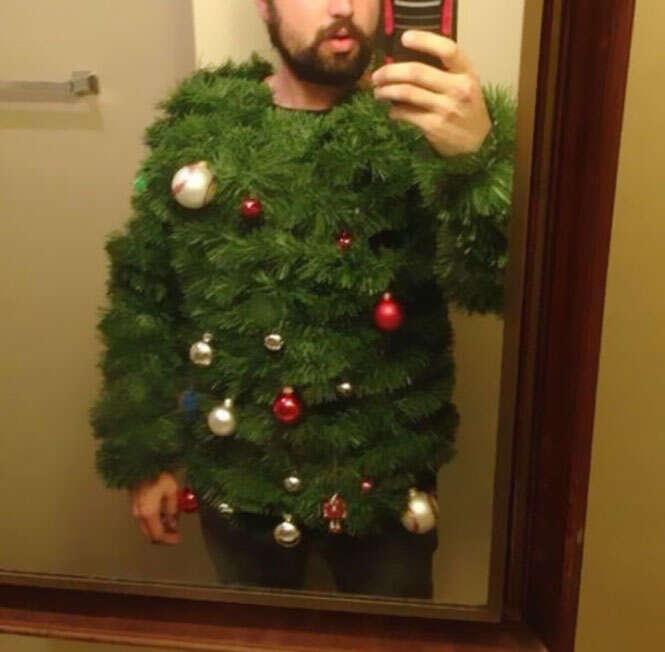 Como não se vestir para o Natal