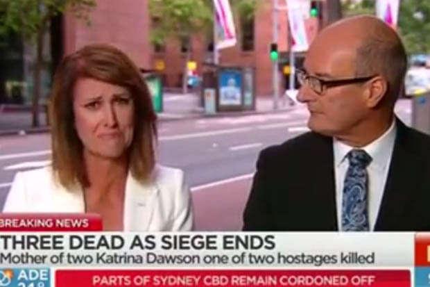 Jornalista se emociona ao vivo após descobrir que amiga está entre os mortos do ataque na Austrália