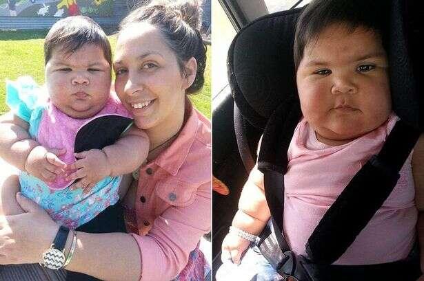 Bebê de 10 meses tem tamanho de crianças de 6 anos devido a condição rara