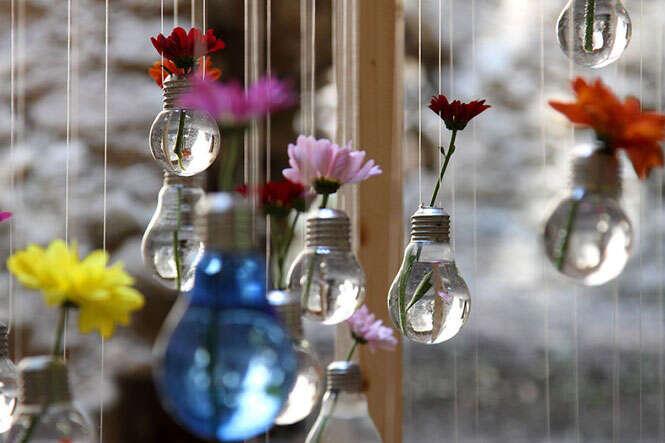 Reciclar lâmpadas velhas