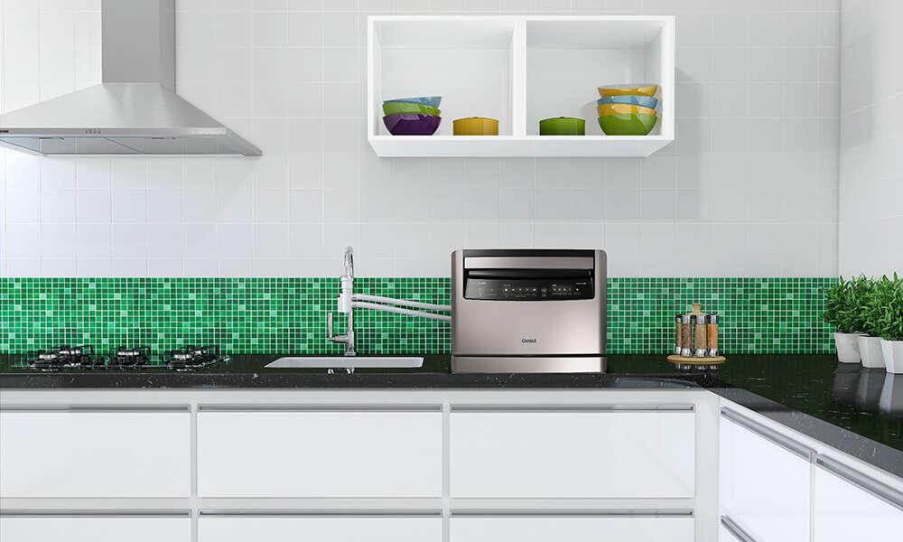 Empresa lança lava-louças que pode ser instalada diretamente em qualquer torneira de cozinha