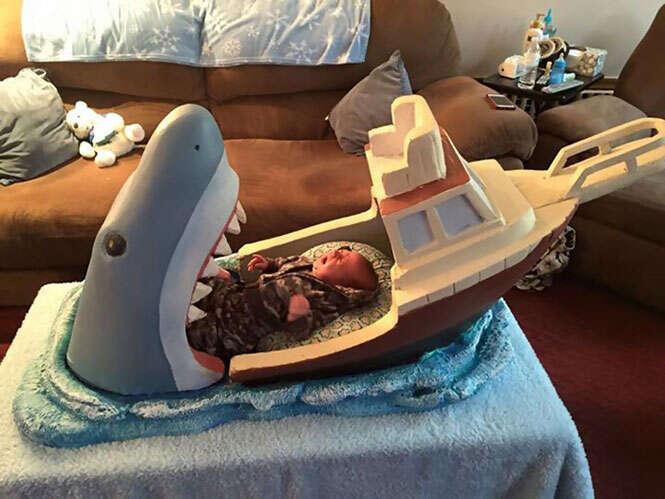 Berço de tubarão