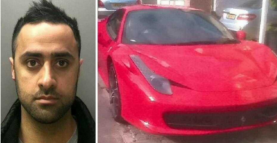 Policial é preso após ir trabalhar com Ferrari de 700 mil reais e levantar suspeita de outros oficiais