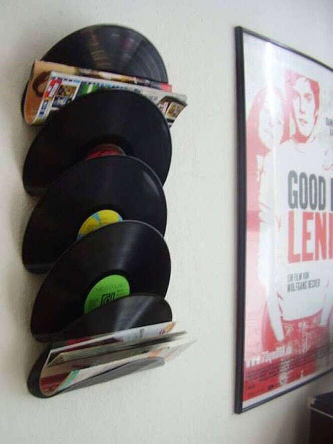 Como reciclar seus discos de vinil de forma criativa