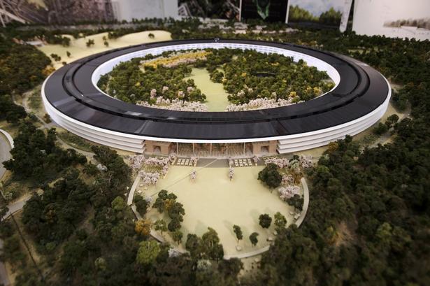 Nova sede da Apple em formato de nave espacial é revelada