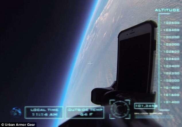 iPhone 6 chega é jogado a mais de 30 mil metros de altura e chega intacto ao chão