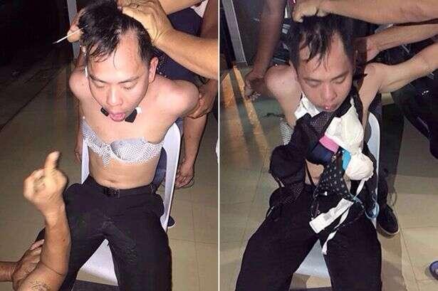 Ladrão é obrigado a vestir lingeries após ser flagrado roubando peças íntimas