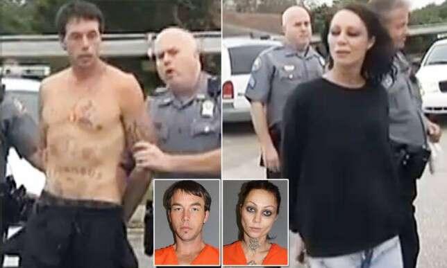 Casal drogado fica preso por dois dias em armário