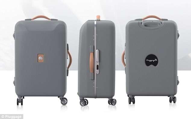 Mala inteligente permite viajar com comodidade e conforto