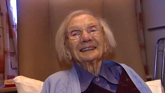 Idosa de 109 anos diz que ficar longe dos homens é o segredo para a longevidade