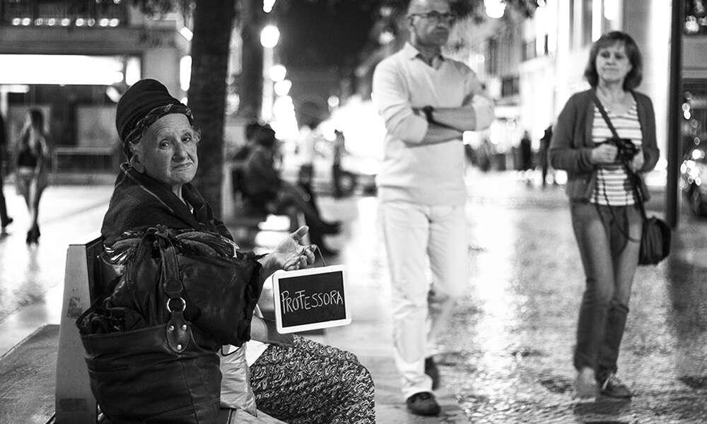 Projeto fotografa moradores de rua mostrando seus sonhos