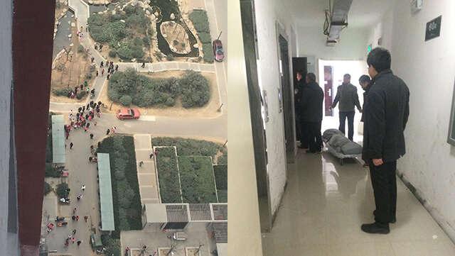 Homem corta garganta da esposa e salta do 30º andar de prédio