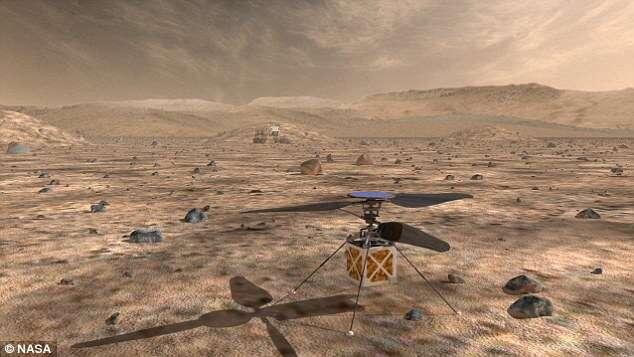 Nasa vai usar drones para reconhecer do terreno de Marte