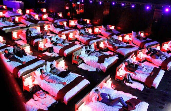 Cinemas incríveis