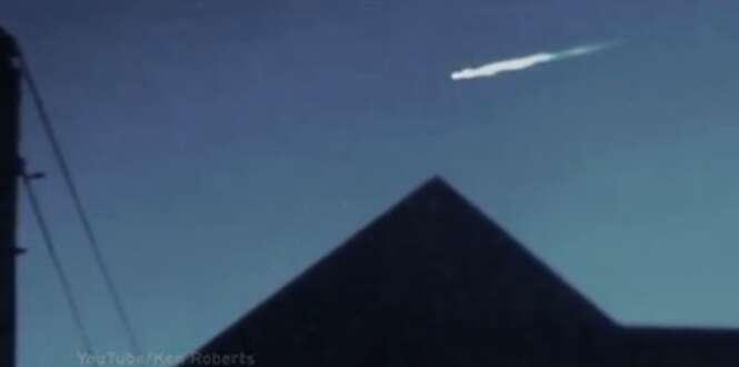 Suposto OVNI é flagrado nos céus dos EUA