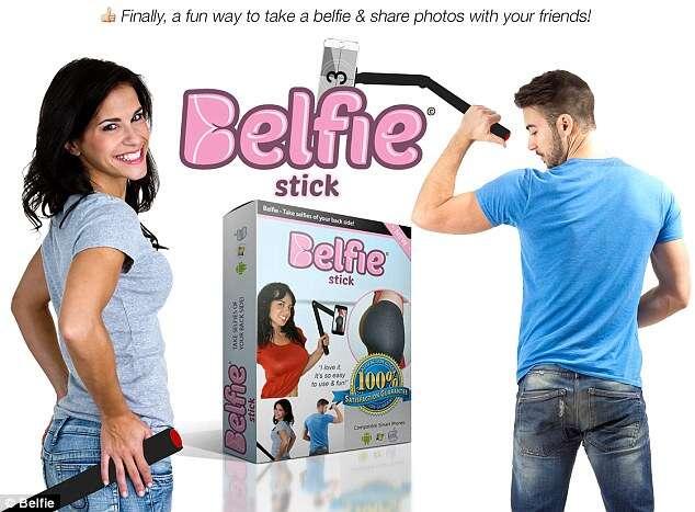 Empresa cria pau de selfie para tirar fotos do bumbum