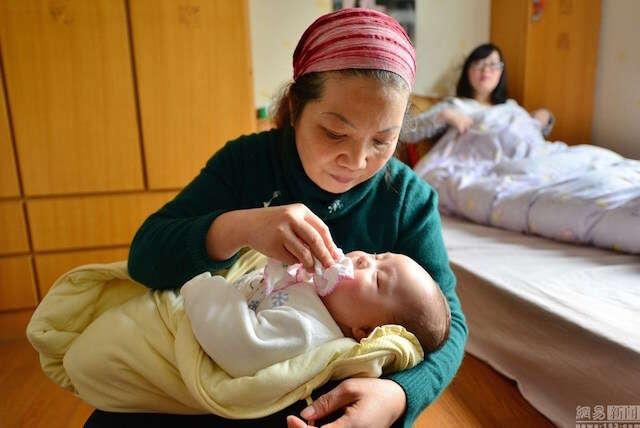 babás chinesas ganham 6 mil reais por mês